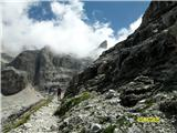 FERRATA SOSAT-Dolomiti di Brentalepa pot