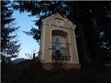 Kapunar (1051 m)Ob poti