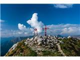 Alta via CAI Gemona (greben Lanež - Veliki Karman)Veliki Karman