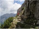 Iz Robanovega Kota čez Črni Hriber na KrofičkoŠe malo pa prilezemo na Strelovec