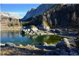 Sedmera jezeraDvojno jezero pri koči