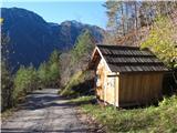 Cesta Belca-Zapornica (Belca)začetek