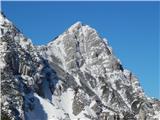 Vrh Ljubeljščice (Triangel)Palec