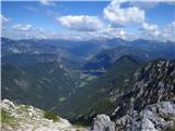 Debela peč, Brda, Lipanski vrh, Mrežcespodaj dolina Krma