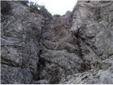 Rjavčki vrh ali Planinšca ( 1898m )Mimo skalnih skokov v Logarski kot