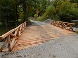 Prelaz Ljubelj (koča)Most je dokončan