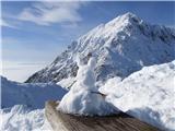 Storžič Bašeljski vrh na malico.