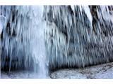Slap Peričnik - Ledena zavesa Peričnika