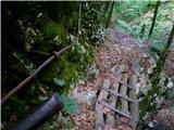 Vodiška planinanazaj po strmi