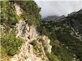 Divja koza - Cima di Riofreddo 2507 mNemška pot je razgibana