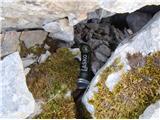Krnička gora iz Matkove KrniceTako pa pod skale skrivajo gorski packi!