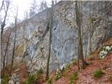 Kamnik ( 861m )stene v Kamniku