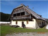 Ojstra (1577 m), Topica (1649 m), Koprivna (1230 m)Luže - Avstrijska stran.