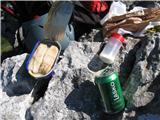 Brložen 851m nmvFileji atlantskega sleda, česen, sol, pivo..