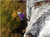 Gonžarjeva pečRutinirano plezanje