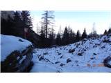 GrintovecOd Taške do Kokrskega sedla je čist solidna zima.
