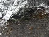 Prelaz Ljubelj (koča)Sneži