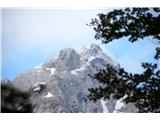 Goli vrh  1787 mnmlep pogled na jutranjo Kočno