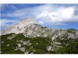 iz Planine Podvežak na Korošico (Ojstrica) 30-7-13