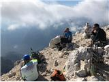 Viš-po poti Anita Goitanzasluženi počitek na vrhu