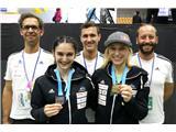 Garnbretova serijska svetovna prvakinjaJanjin in Miin uspeh je največji dosežek slovenske reprezentance pod vodstvom Gorazda Hrena, Luke Fonda in Urha Čehovina na svetovnih prvenstvih (foto Manca Ogrin).