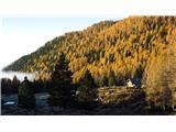 Križevnik, Velika Zelenica in Veliki vrhJesen na Planini Ravne