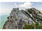 Alta via CAI Gemona (greben Lanež - Veliki Karman)vsak po svoje...platke, rušje