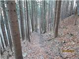 Loška planinska pot Po strmi gor