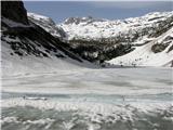 BatognicaKrnsko jezero v vsej svoji ledeni lepoti