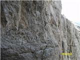 FERRATA SOSAT-Dolomiti di Brentapo novo nadelani smeri iz grla na polico
