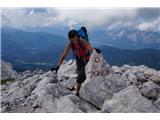 Prečenje Via de la Vita - Vevnica - Strug - PonceNa vrhu