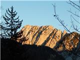 Prelaz Ljubelj (koča)Veliki vrh