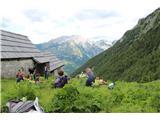 Planina Za Skalo in Kaluderpočitek na planini za Skalo