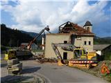 GolčajRušenje starega gasilskega doma