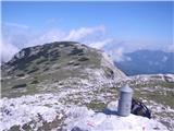Veliki vrh, Dleskovecno pa sem le uspela enkrat do  Aljaževega stolpa :)