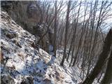 Boč - Donačka goraBalunjača - precej ledeno in spolzko je...