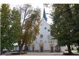 Jakobova pot  - Višarska smer- Cerkev sv. Petra v Radovljici
