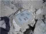 Mejni kamen, Križ, meja RS-A