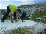 Kalški grebenvode zmanjkuje, bo pa letošnji sneg prišel prav
