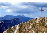 Goli vrh  1787 mnmObir v ozadju