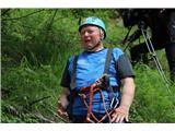 Večji obisk gora, več dela za markaciste...Zdravko Bodlaj, markacist inštruktor PZS in član tehnične skupine Komisije za planinske poti PZS (foto Manca Čujež).