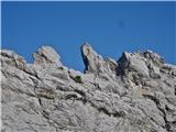 Krnička gora iz Matkove Krnicegreben nad Matkovo krnico