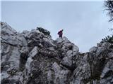 Ojstri vrh 1371mpod Slanicami