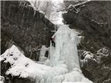 Grape, slapovi, zimski alpinistični vzponiTretji