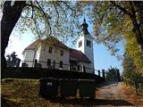 Kojca (1303m)Cerkev sv. Lenarta v Bukovem