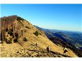 Kamniški vrhpot proti Kamniškemu vrhu