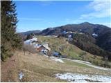 Puštalski krogSpust v Selo nad Polhovim Gradcem