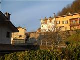 Alta via CAI Gemona (greben Lanež - Veliki Karman)Podbrdo ( Cesariis)