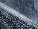 Čudovita naravaVeter prenaša sneg