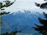 Planinski dom Goška Ravan - razpok